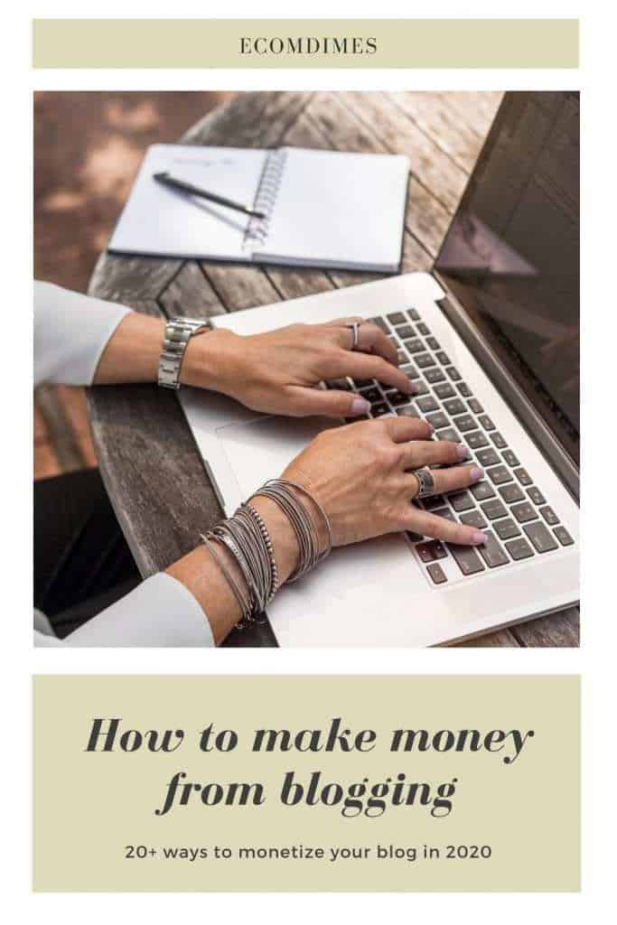 There are actually various streams of income for blogging. But before start ranking in cash, you have to start a blog! Maybe you have a blog and you're looking forward to monetizing it, and if you do it right, you might end up making a 6-figure! However, this is not a get costly quick ordeal, it takes time.  These tips and methods can make you able to turn your blog into a money-making machine.Learn more inside!  #bloggingincome #bloggingforbeginners #bloggingtips #bloggingformoney #makemoneyblogging #bloggingmoney #bloggingcash #blogincomestreams