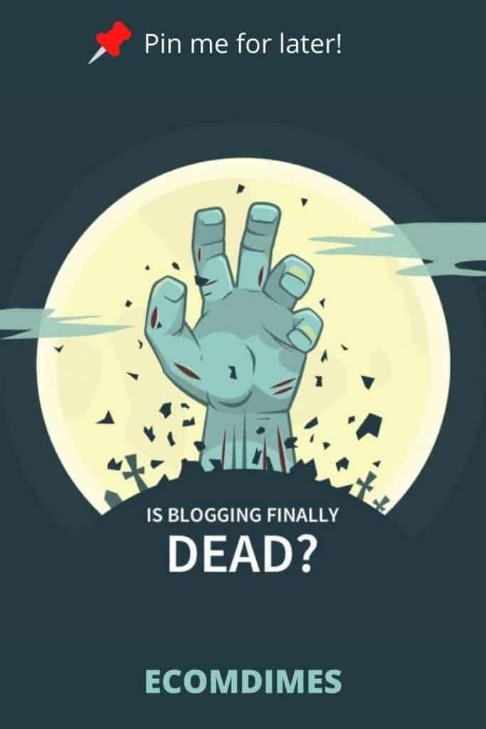 Is blogging saturated?This post is for anyone who believes that blogging is dead in 2020!Blogging will forever remain relevant so long as the internet exists, and since it's doesn't seem like it's going away soon#bloggingrelevant #blogging #bloggingtips #bloggingforbeginners